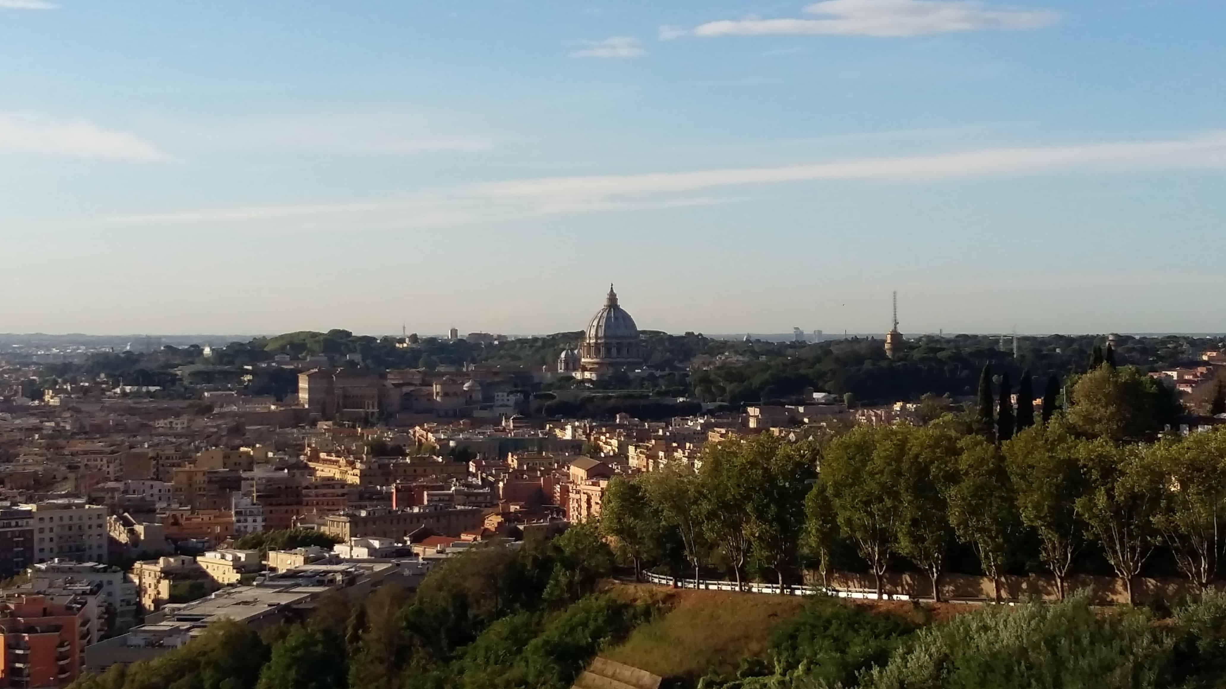 Via Francigena. Giorno 41 – L'arrivo a Roma