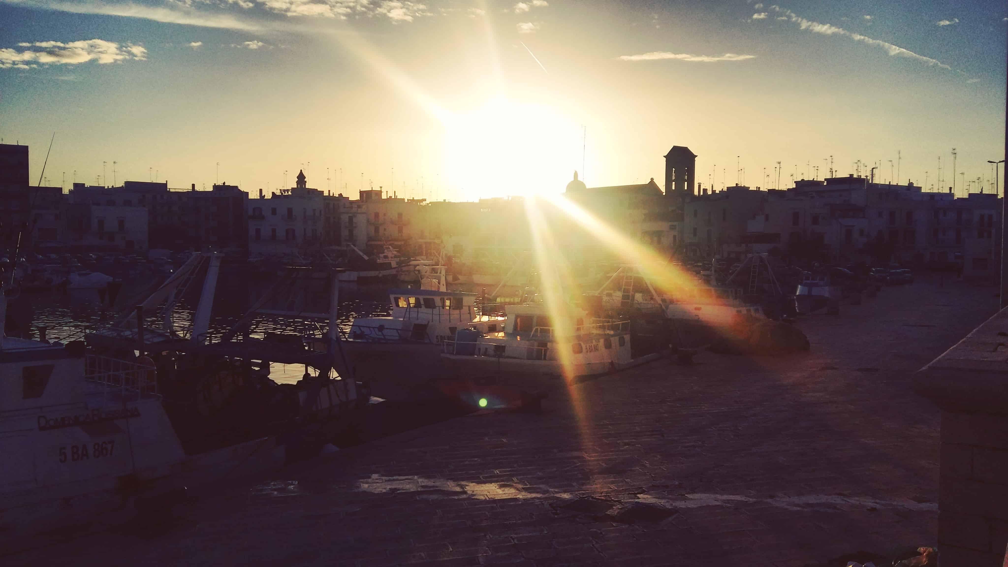 Via Francigena. Giorno 61 – da Bari a Mola di Bari