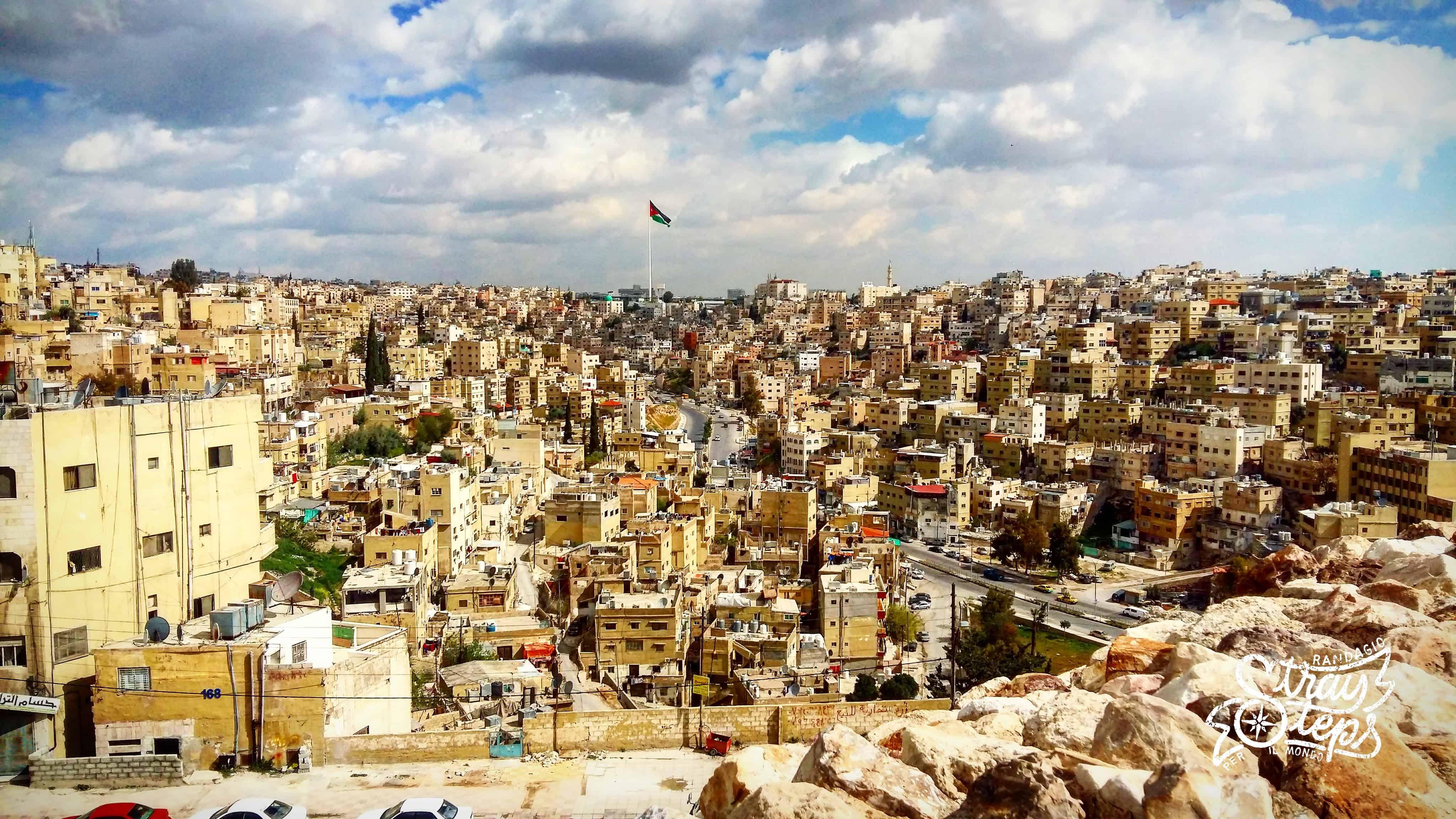 Giordania. Giorno 1 – L'arrivo ad Amman e primo giro per la citta